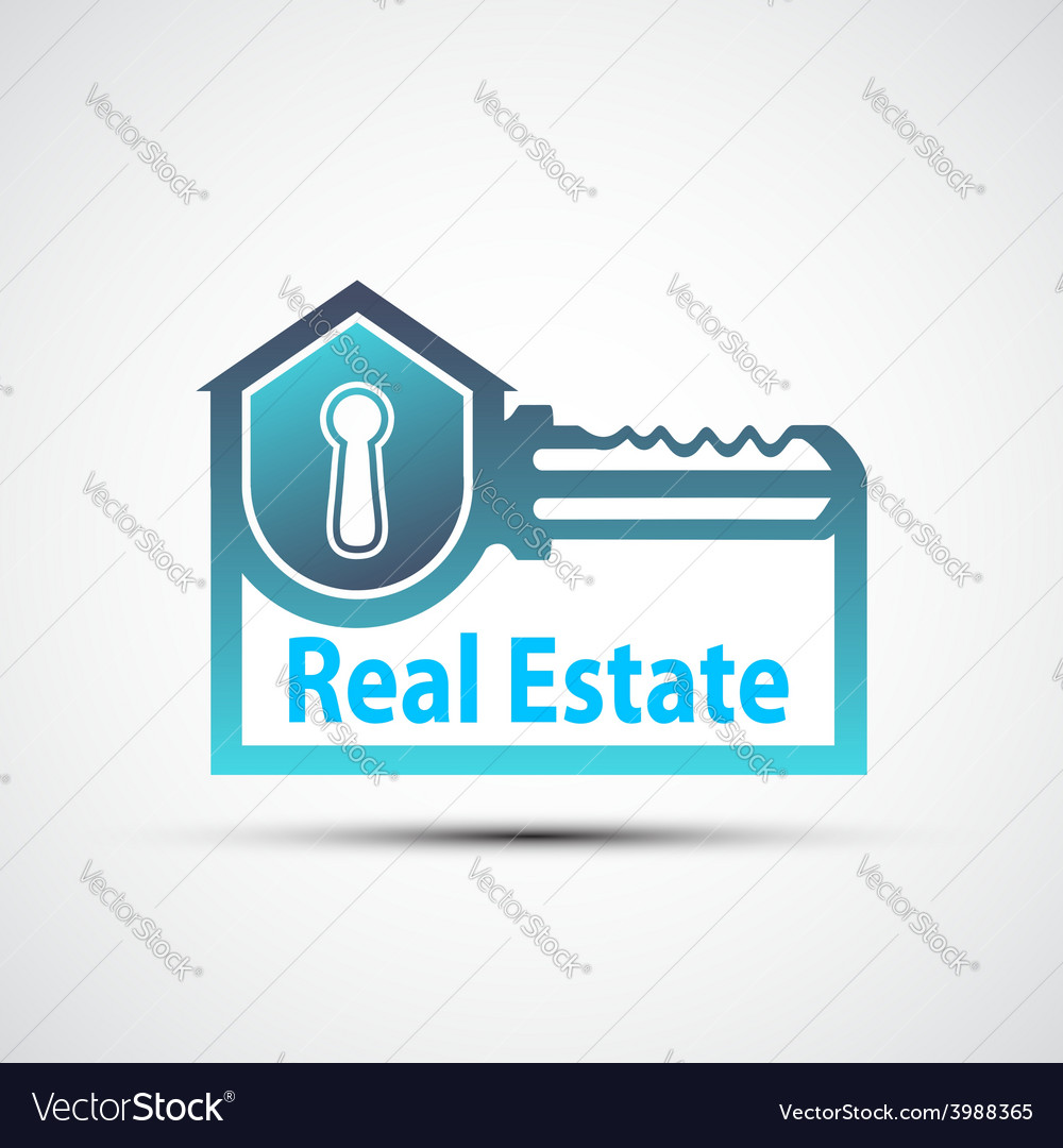 Logo of the real estate vector | Price: 1 Credit (USD $1)