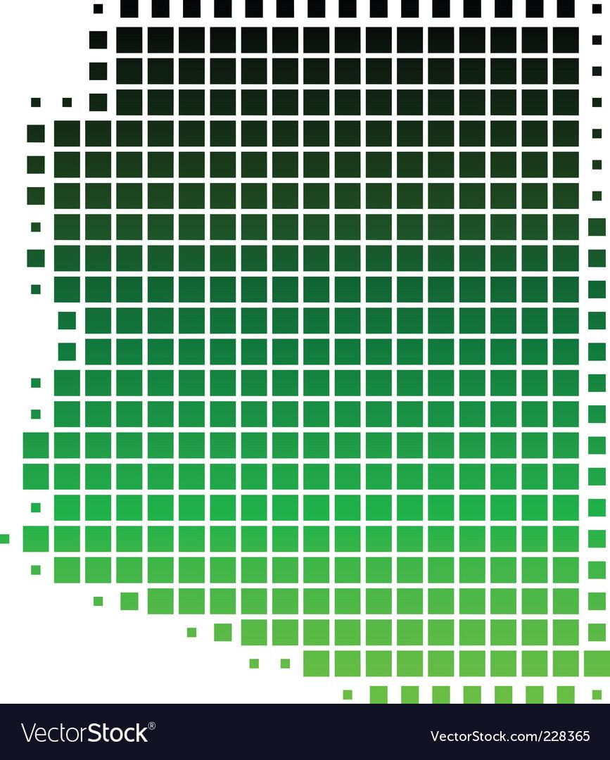 Map of arizona vector | Price: 1 Credit (USD $1)