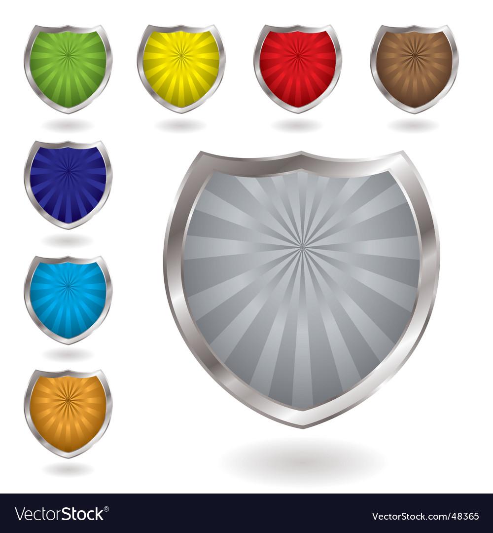 Radiate shield vector | Price: 1 Credit (USD $1)