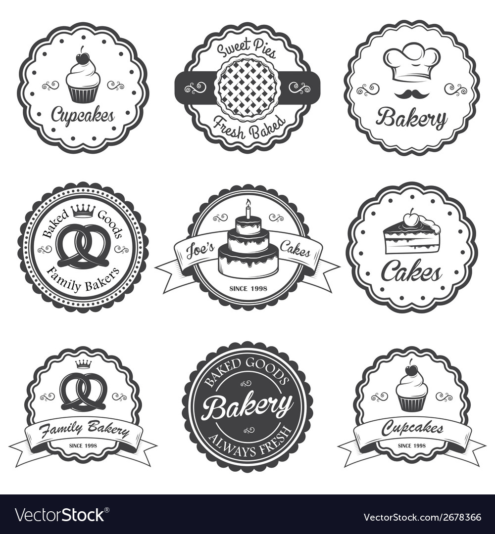 Bakery 2 vector | Price: 1 Credit (USD $1)