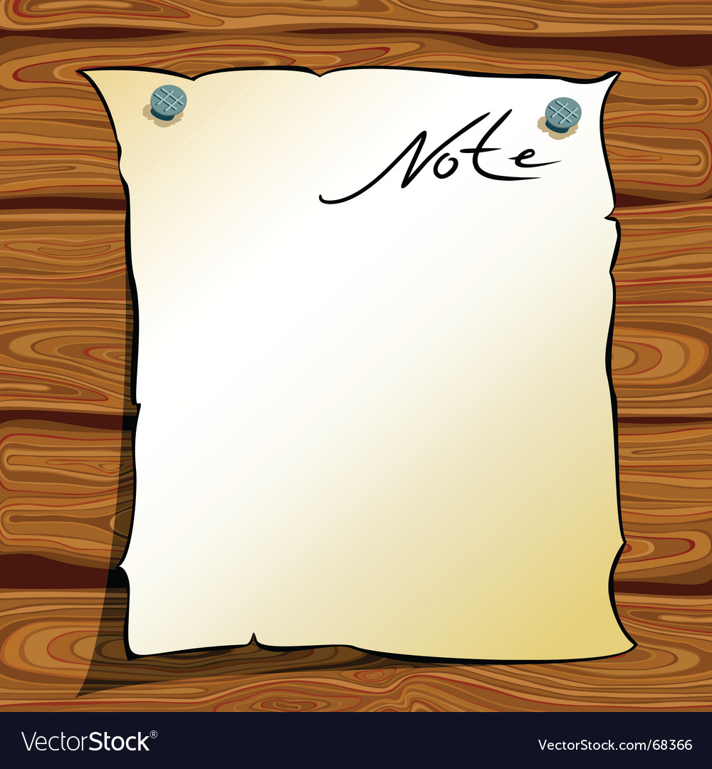 Note page vector | Price: 1 Credit (USD $1)