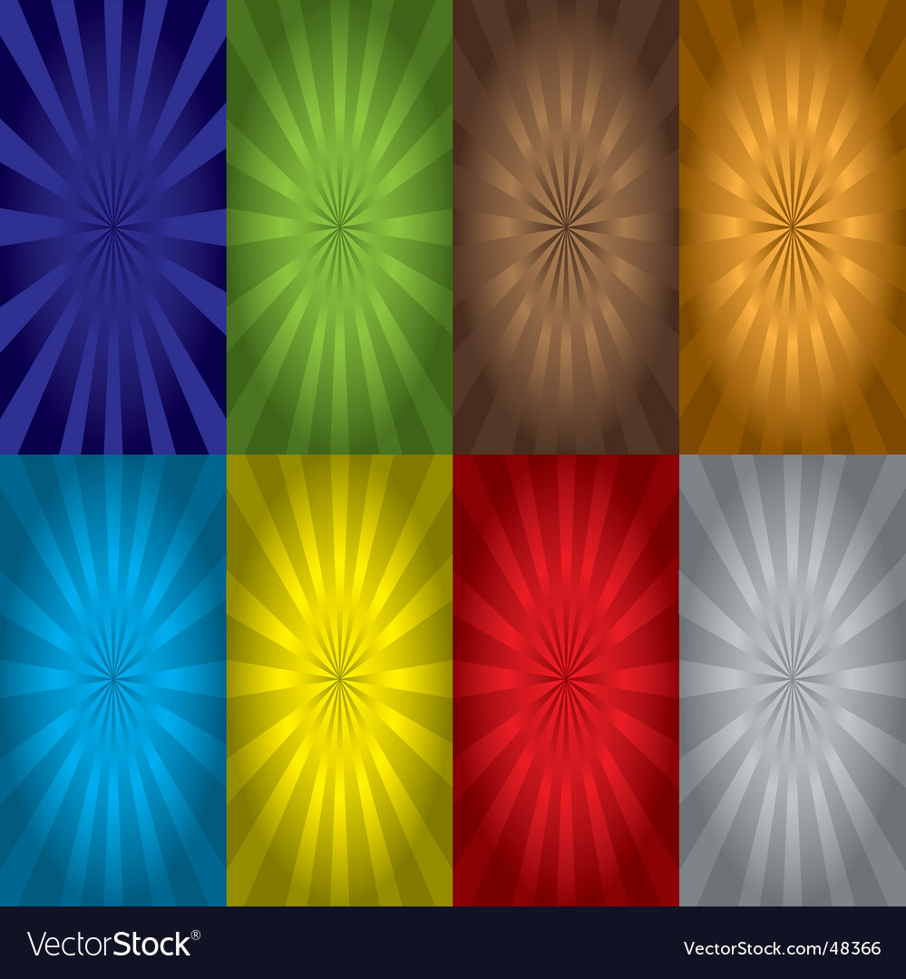 Radiate variation vector | Price: 1 Credit (USD $1)