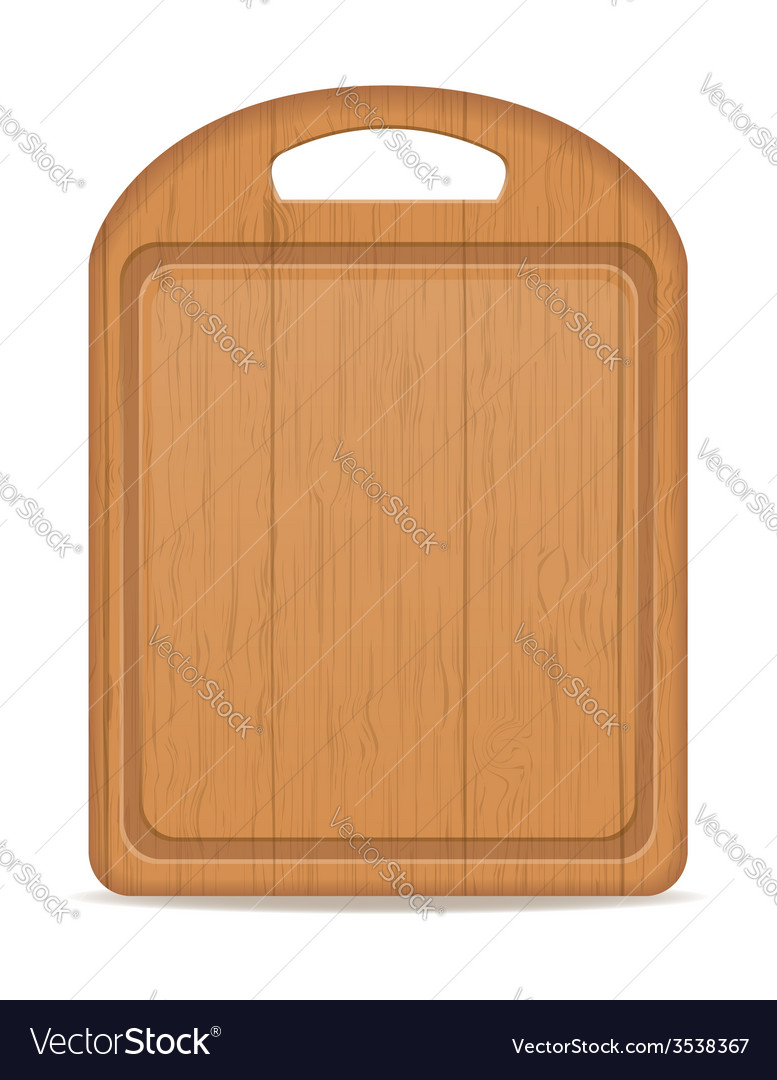 Cutting board 03 vector | Price: 1 Credit (USD $1)