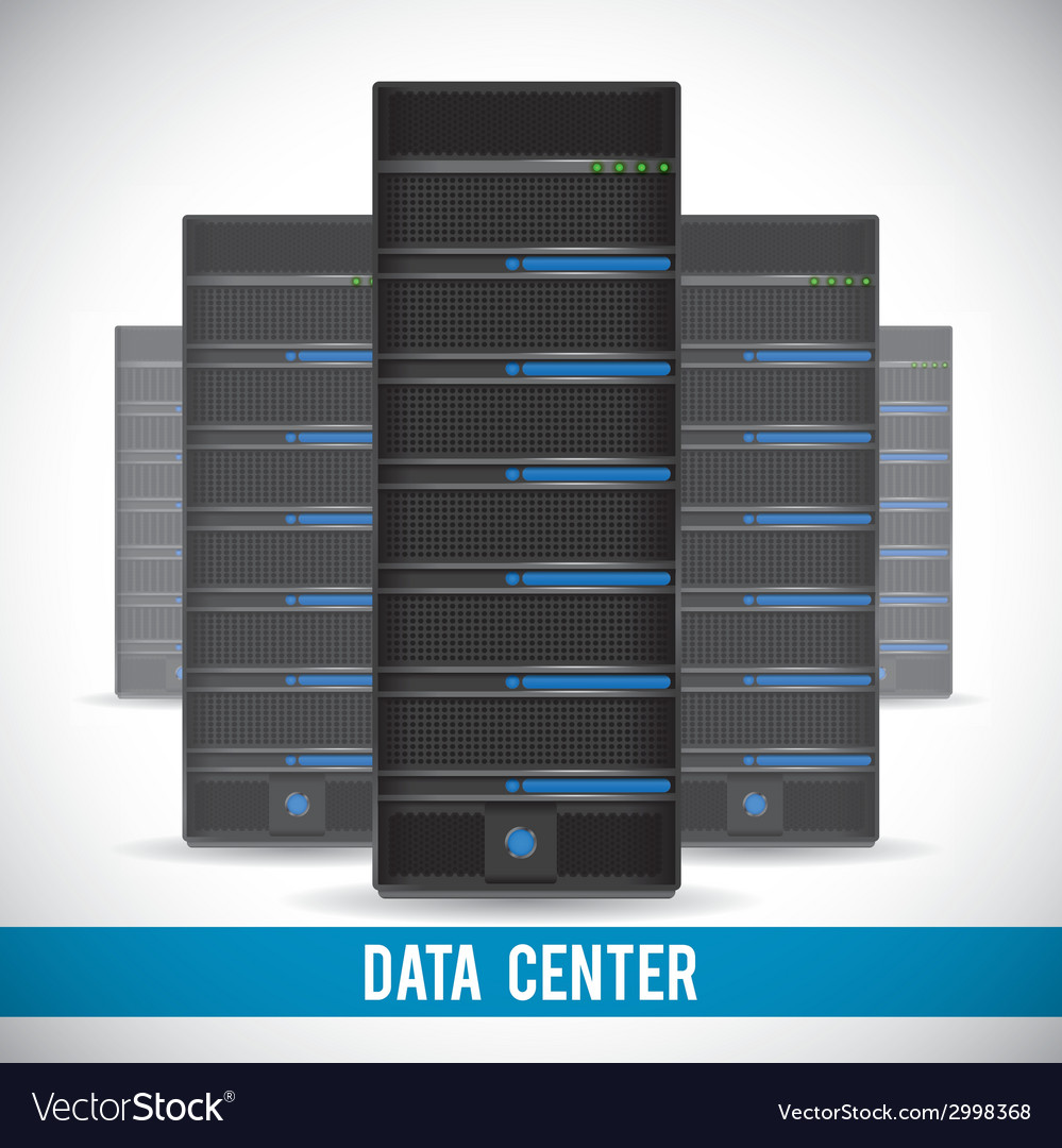 Data center design vector   Price: 1 Credit (USD $1)