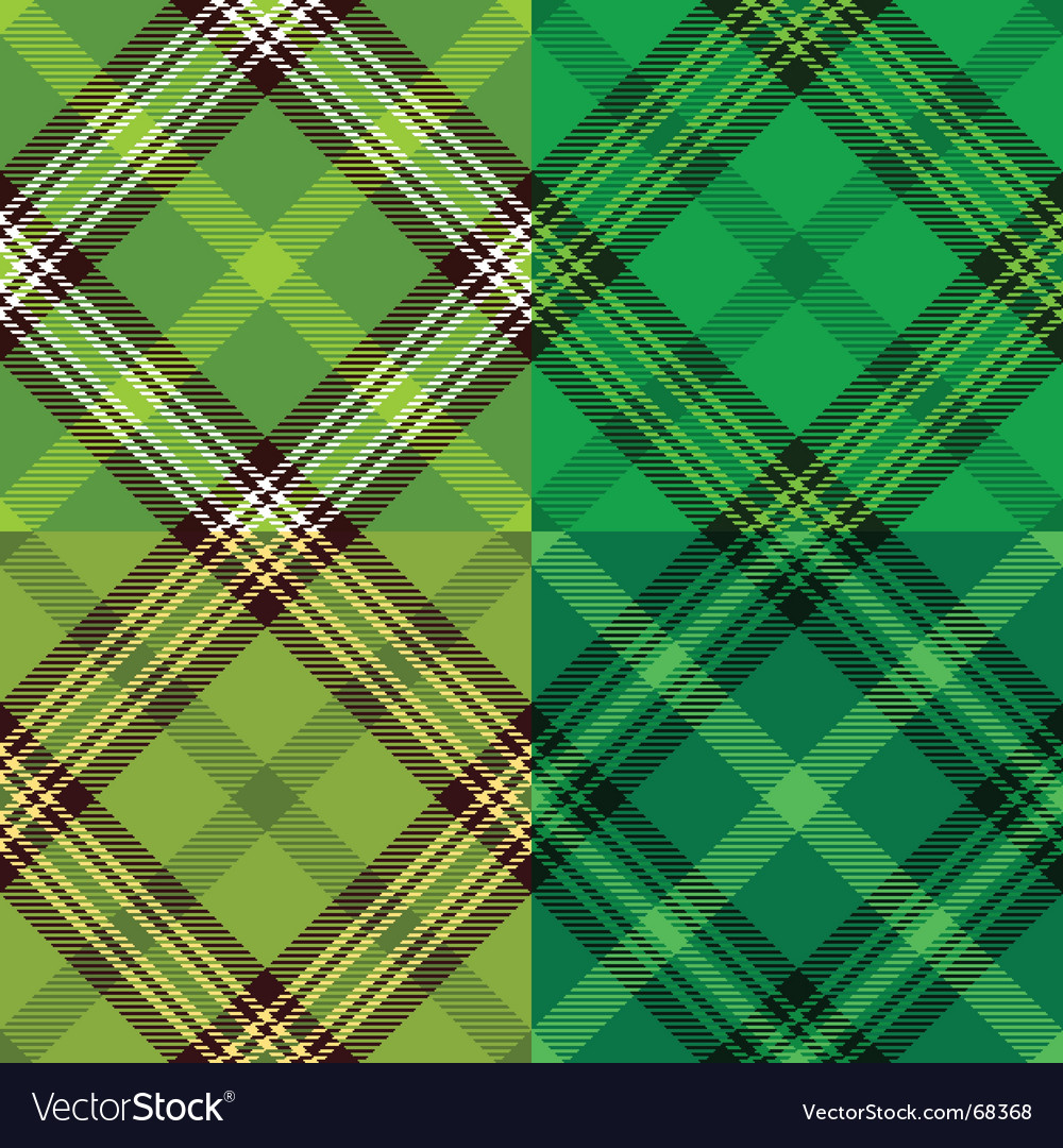 Irish tartan pattern vector | Price: 1 Credit (USD $1)