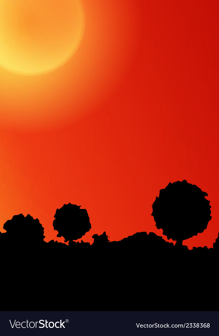 Sunset background vector   Price: 1 Credit (USD $1)