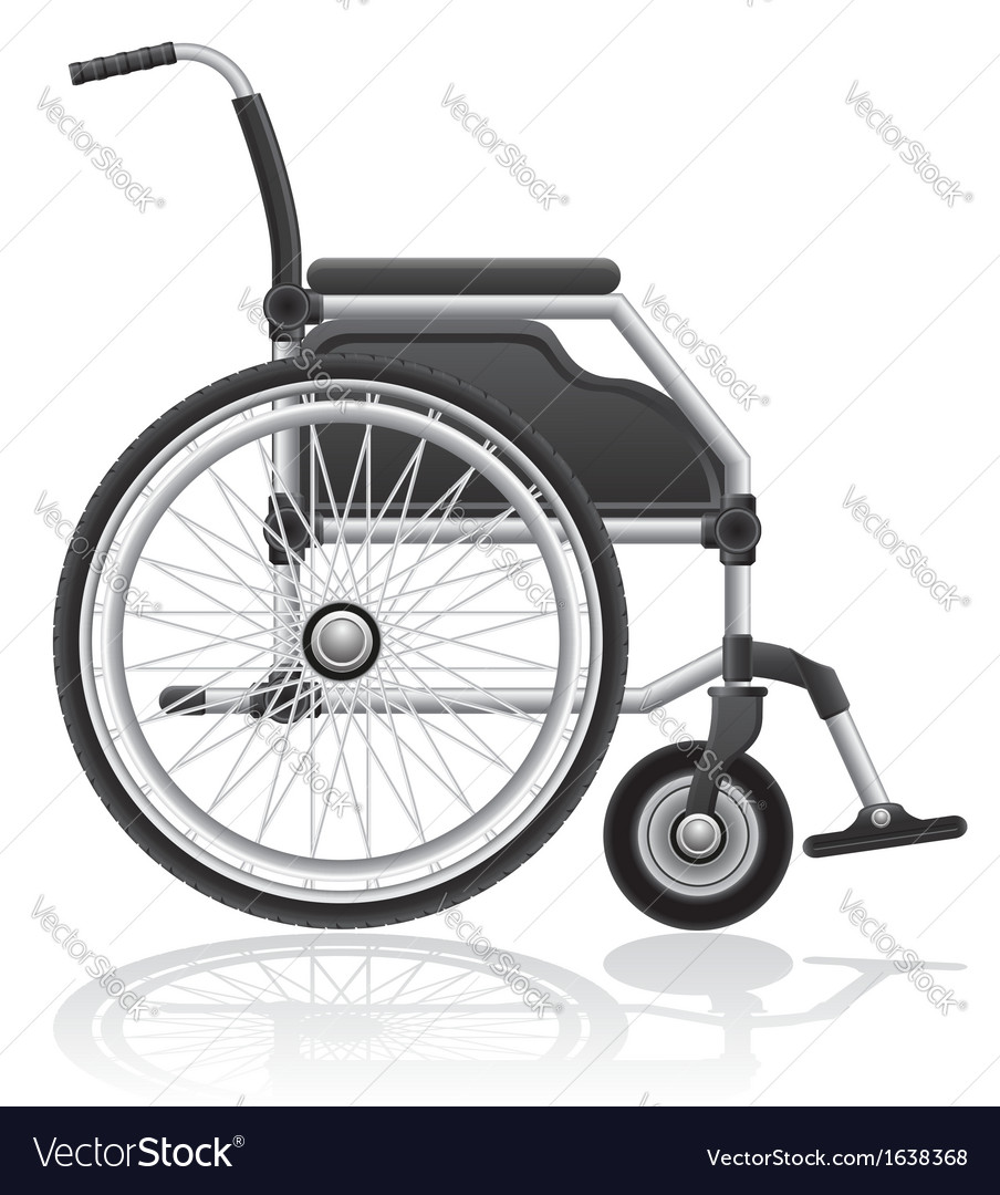 Wheelchair 01 vector | Price: 1 Credit (USD $1)