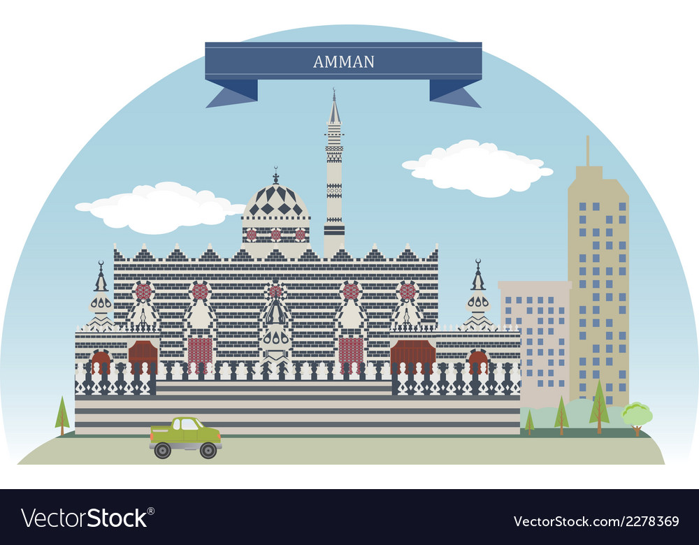 Amman vector | Price: 1 Credit (USD $1)