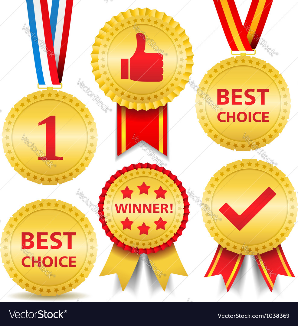 Awards vector | Price: 1 Credit (USD $1)