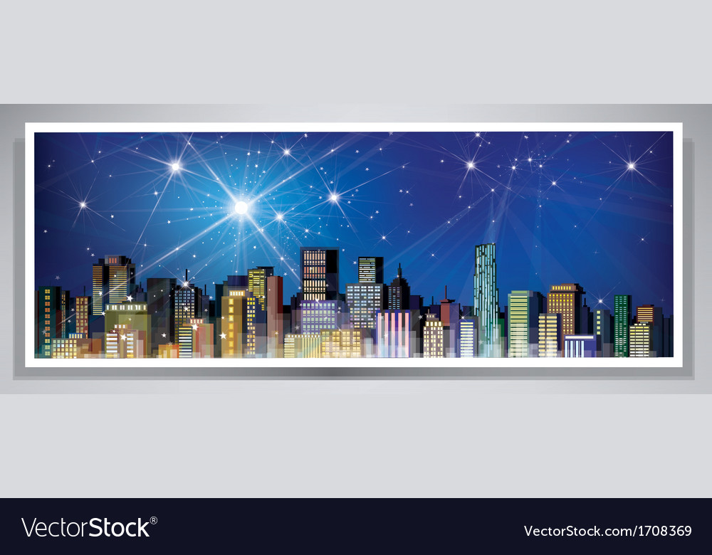 City banner vector | Price: 1 Credit (USD $1)