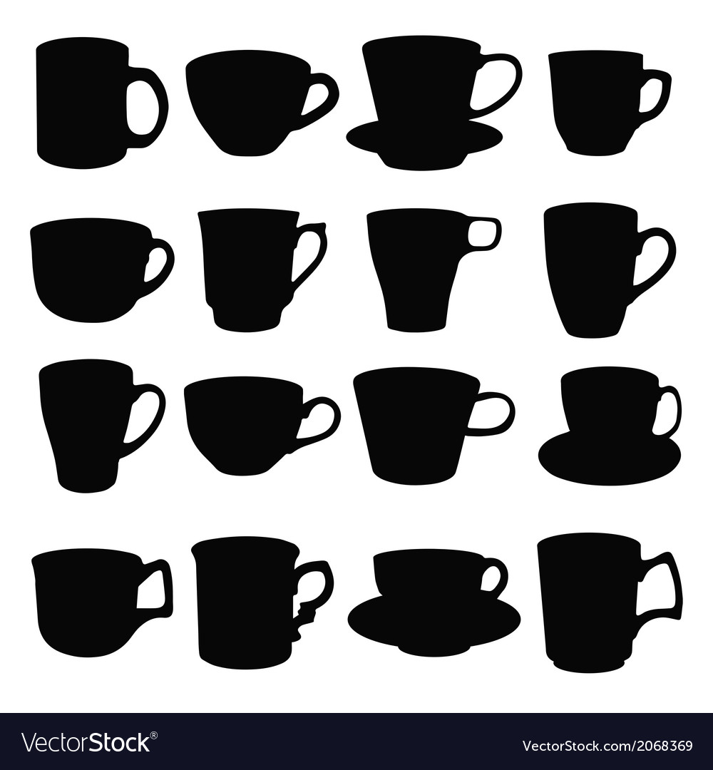 Cups vector | Price: 1 Credit (USD $1)