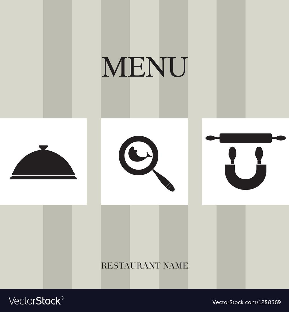 Menu for restaurant vector | Price: 1 Credit (USD $1)