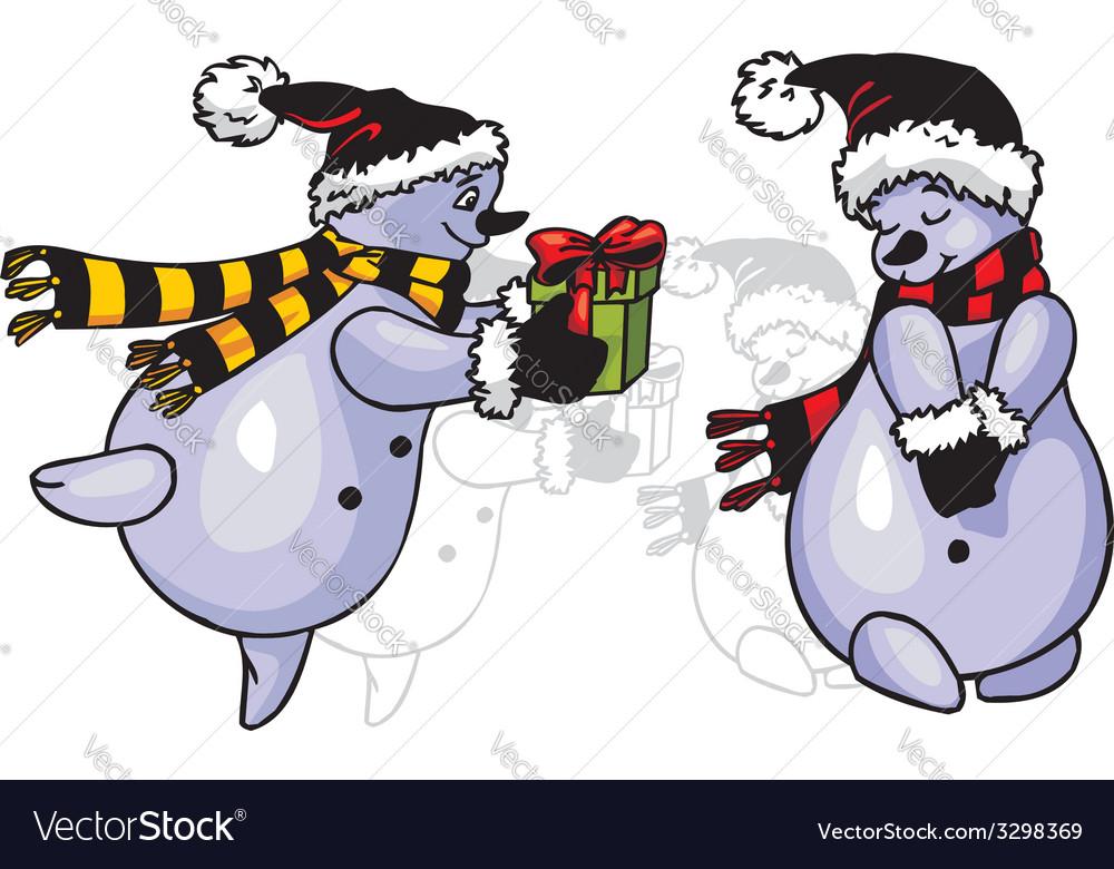 Snowmans - vinyl-redy vector | Price: 1 Credit (USD $1)