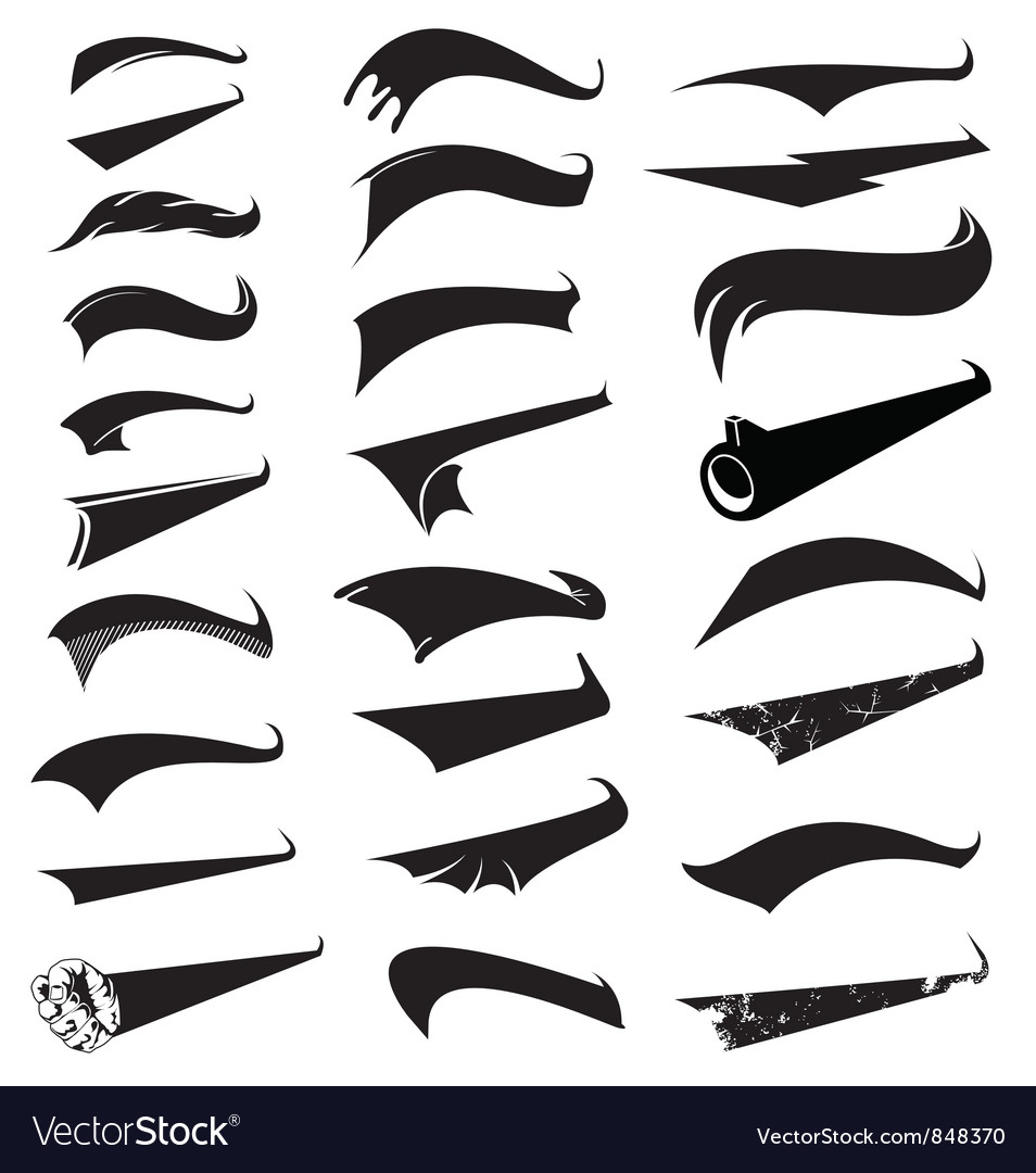 Sports tails vector | Price: 1 Credit (USD $1)