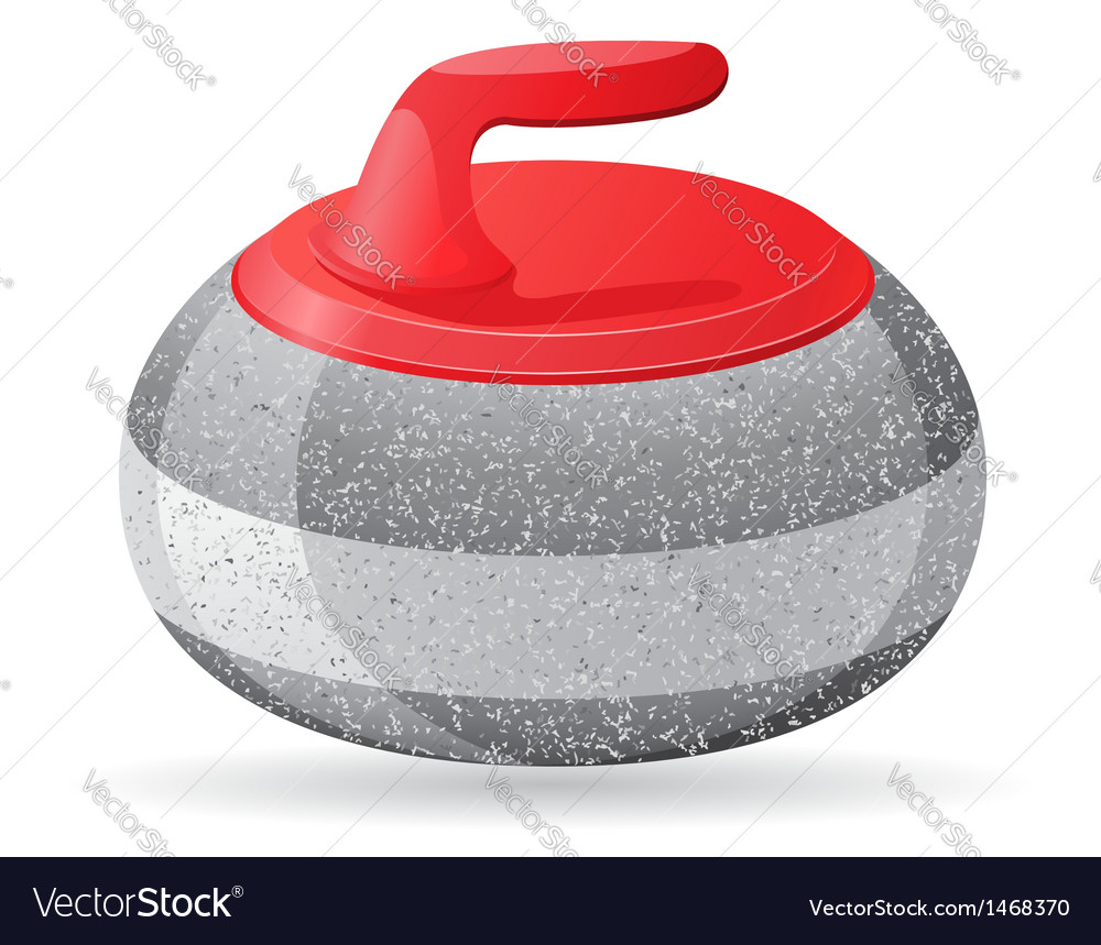 Stone for curling vector | Price: 1 Credit (USD $1)