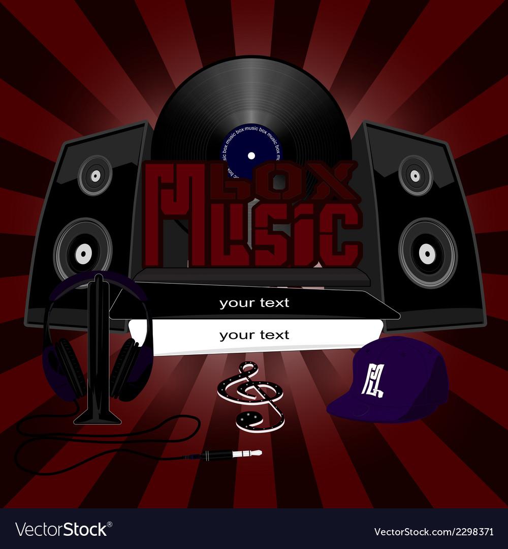 Music box vector | Price: 1 Credit (USD $1)