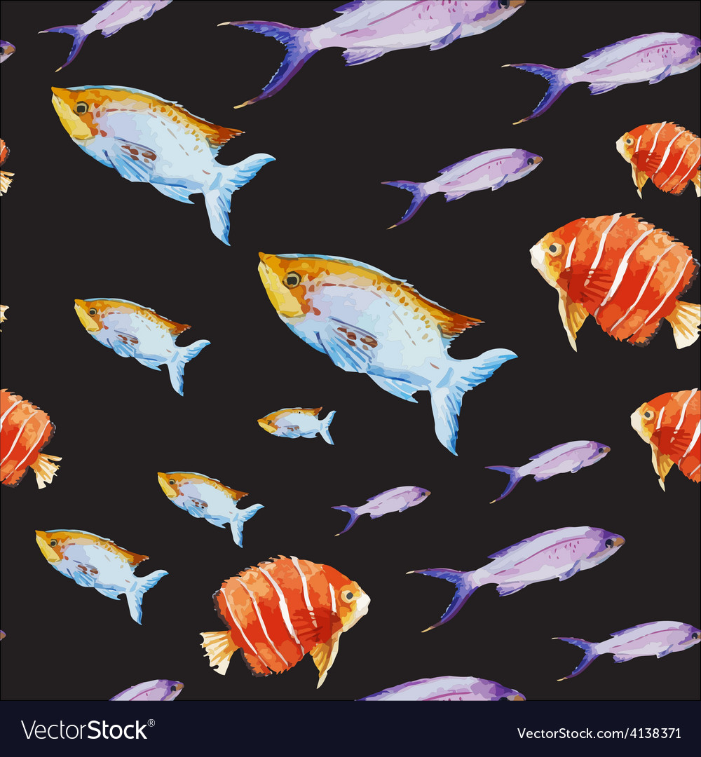 Nice fishes vector | Price: 1 Credit (USD $1)