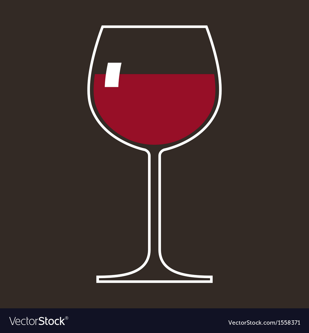 Wineglass vector | Price: 1 Credit (USD $1)