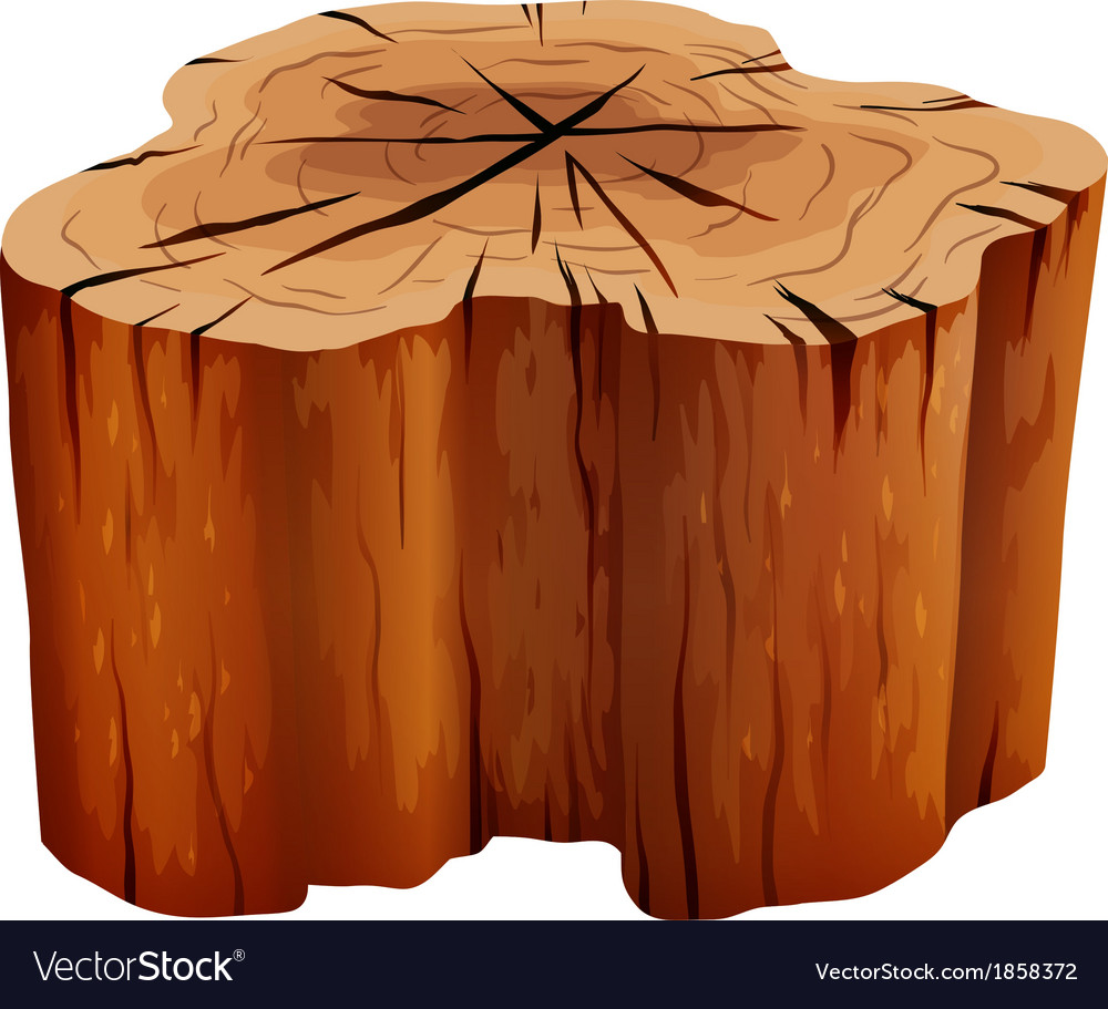 A big stump vector | Price: 1 Credit (USD $1)