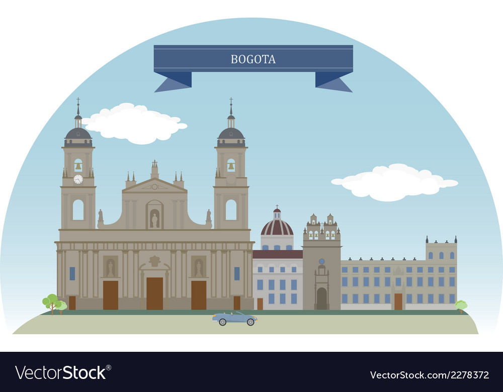 Bogota vector | Price: 1 Credit (USD $1)