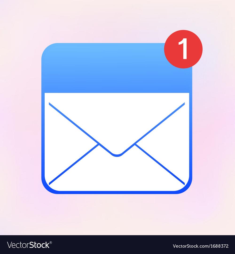 Envelope app icon eps10 vector   Price: 1 Credit (USD $1)