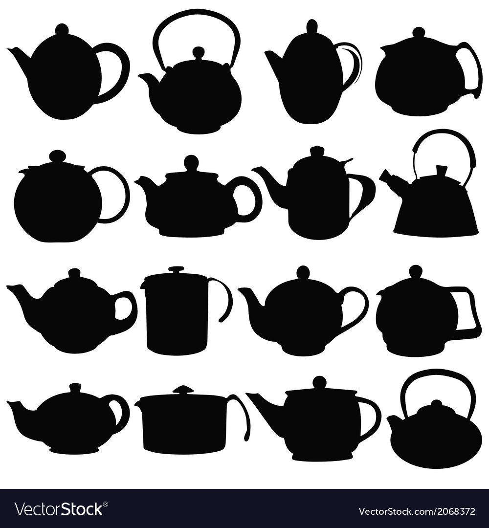 Kettles vector | Price: 1 Credit (USD $1)