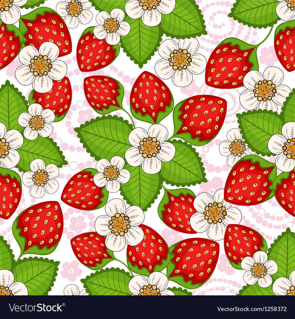 Seamless spring floral pattern vector | Price: 1 Credit (USD $1)