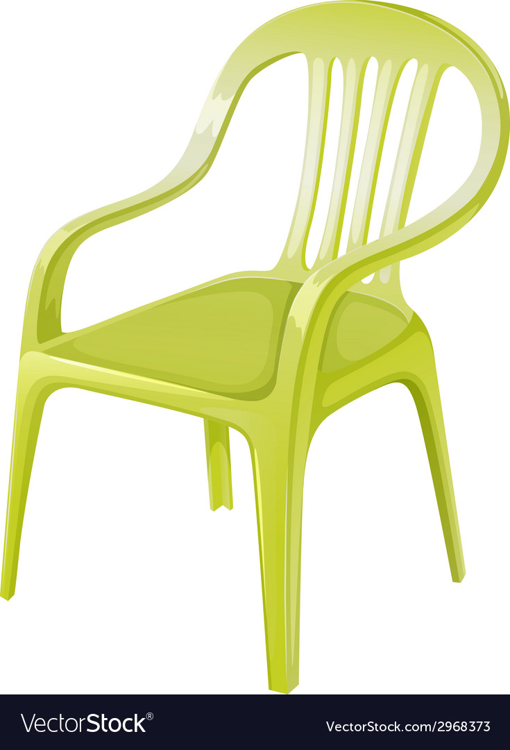 A plastic chair furniture vector | Price: 1 Credit (USD $1)