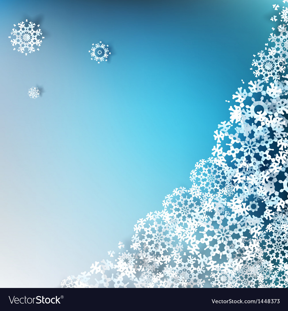 Christmas elegant blue background eps 10 vector | Price: 1 Credit (USD $1)