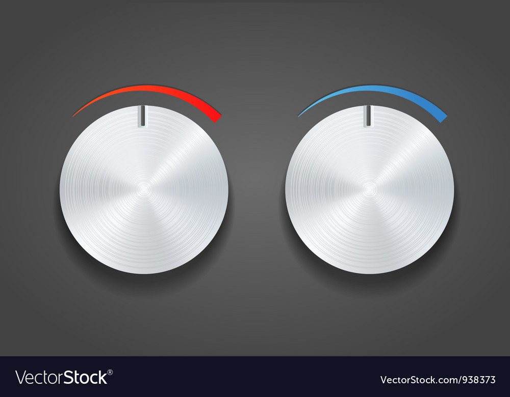 Round dial switch vector | Price: 1 Credit (USD $1)