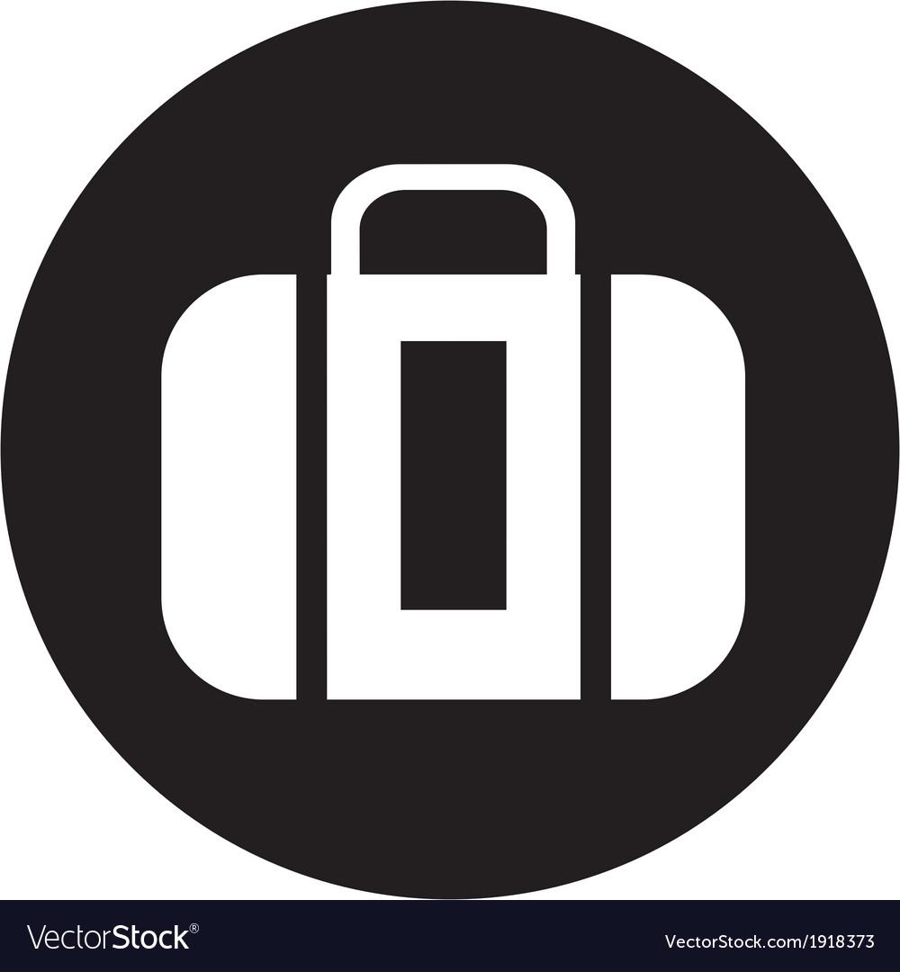 Suitcase icon vector | Price: 1 Credit (USD $1)