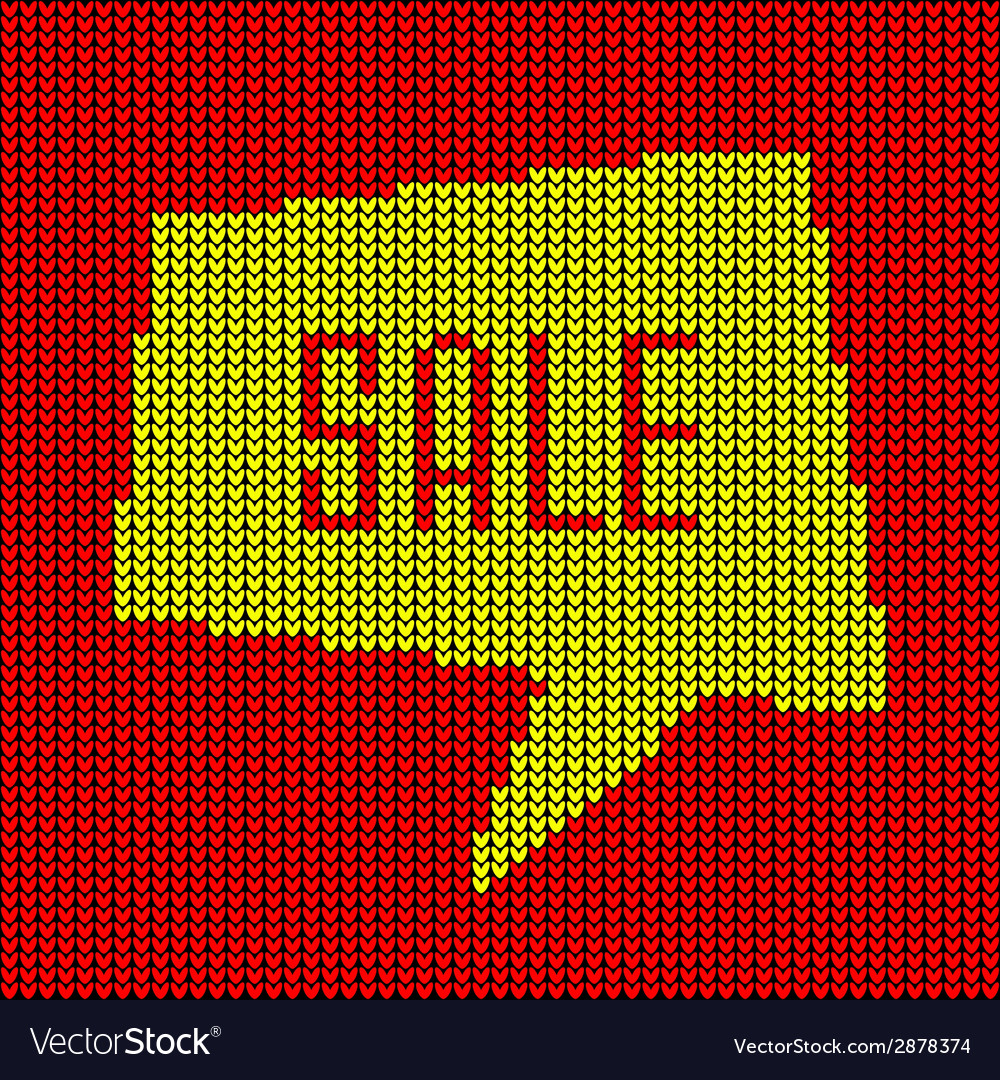 Colorful knitted sale bubble vector   Price: 1 Credit (USD $1)
