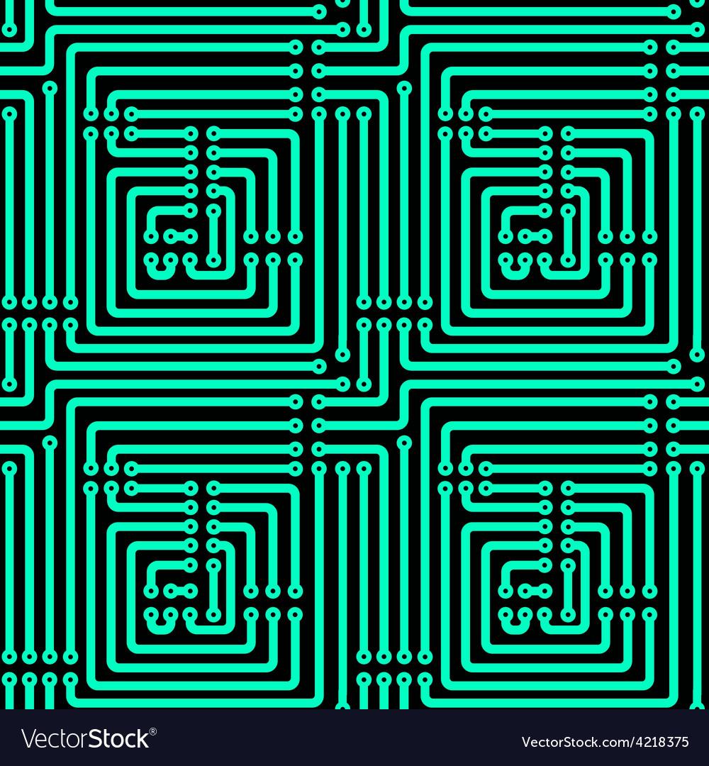 Printed circuit board vector | Price: 1 Credit (USD $1)