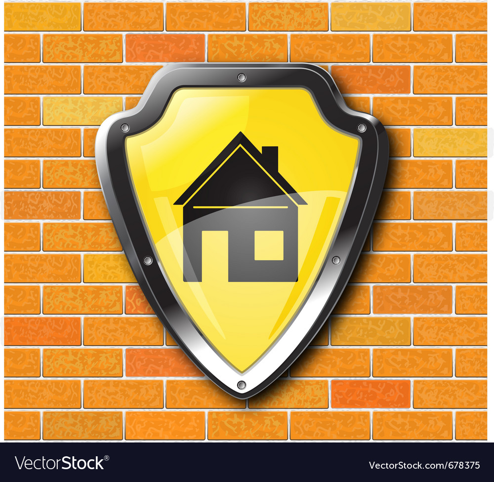 Protection shield vector | Price: 1 Credit (USD $1)