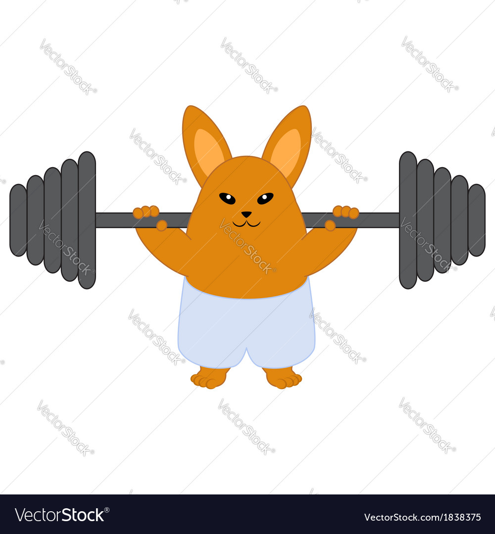 Strong bunny vector | Price: 1 Credit (USD $1)