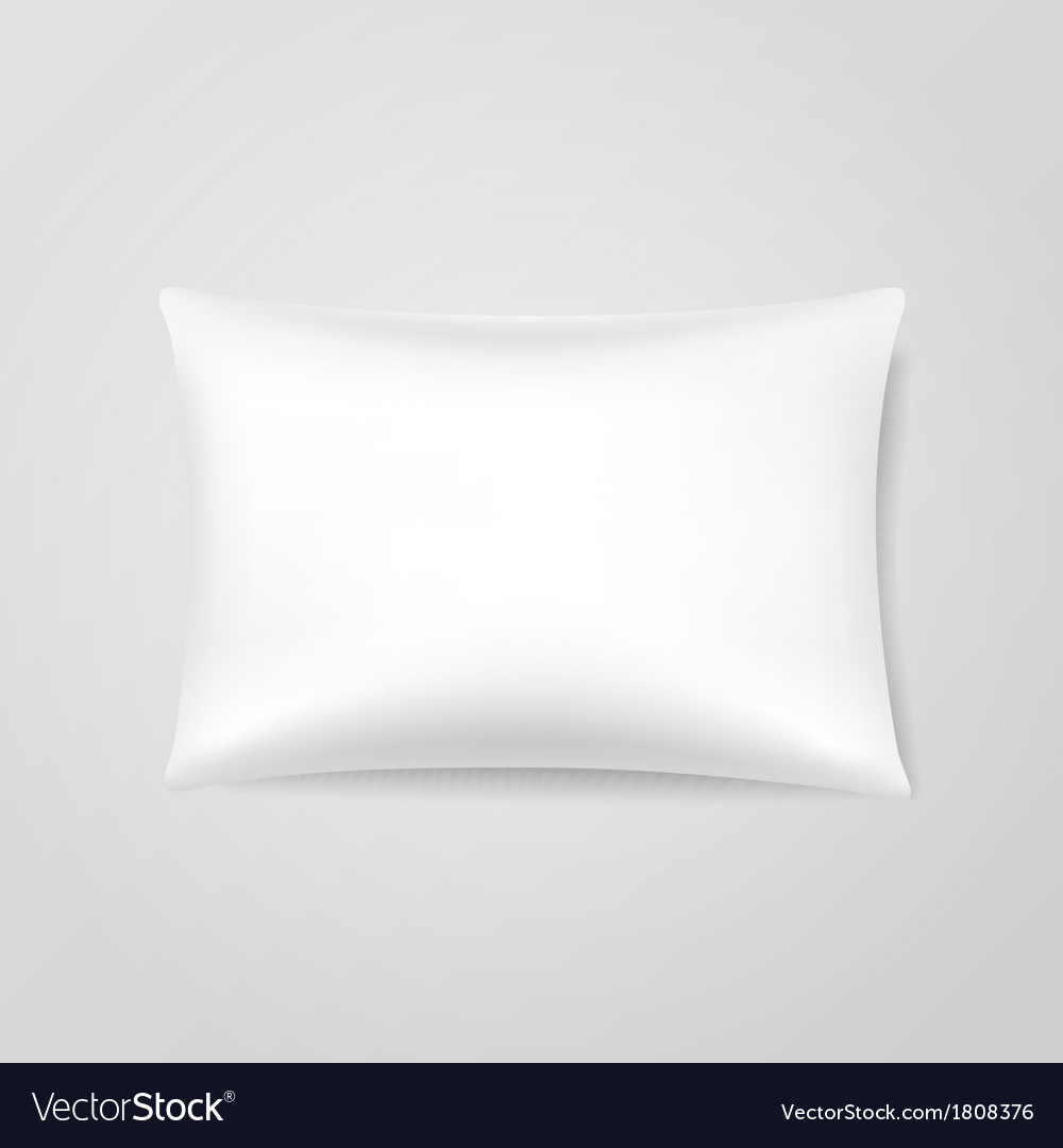 Blank pillow vector | Price: 1 Credit (USD $1)