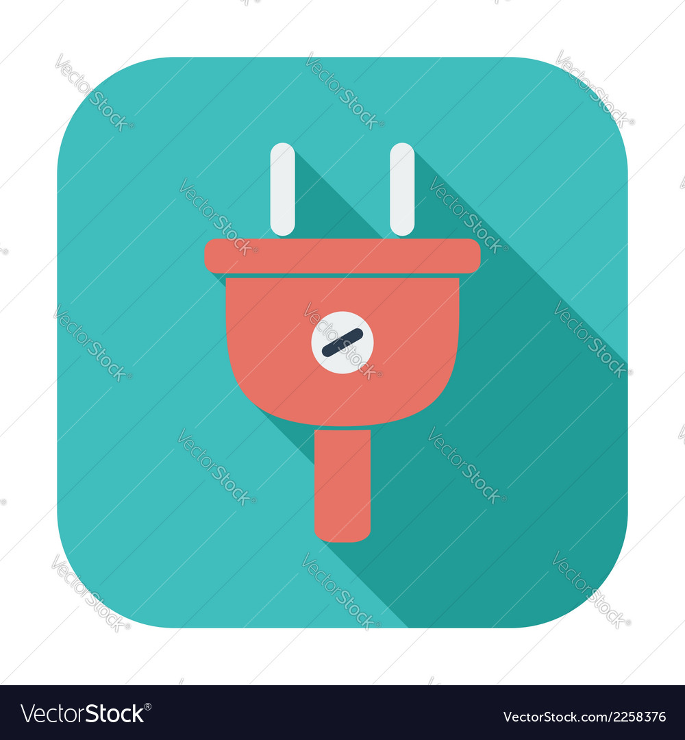 Electrical plug vector | Price: 1 Credit (USD $1)
