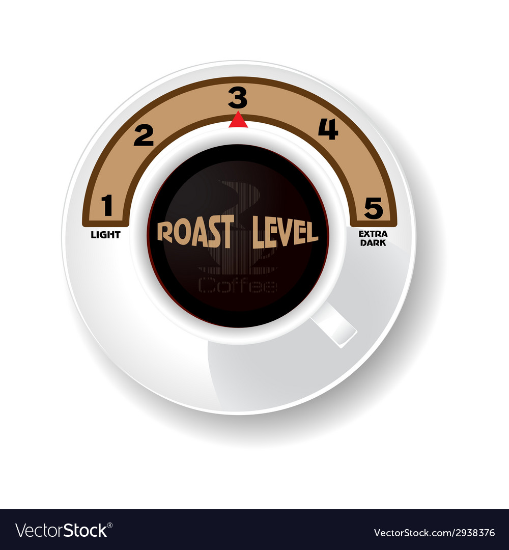 Level of coffee vector | Price: 1 Credit (USD $1)