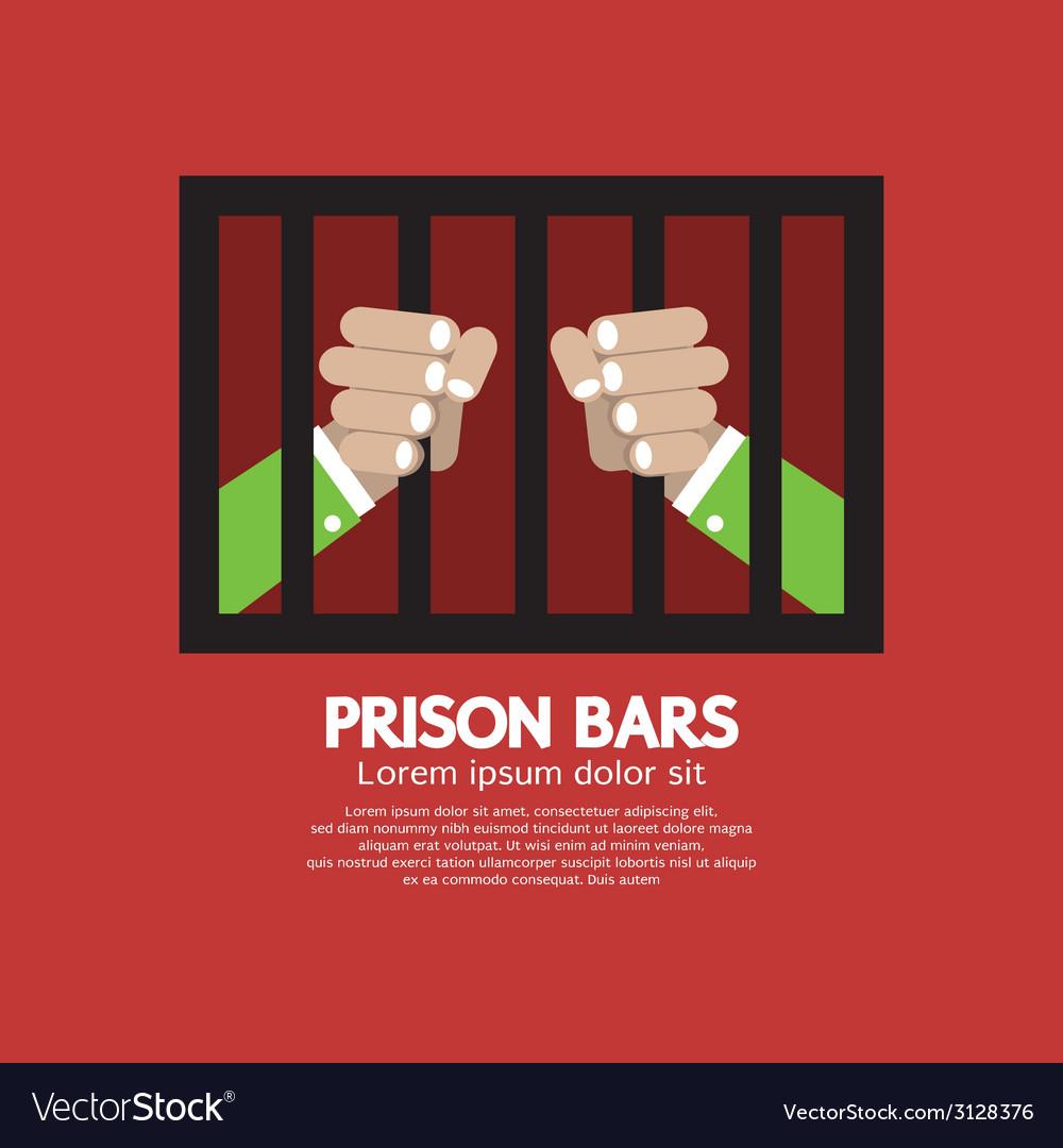 Prison bars graphic vector | Price: 1 Credit (USD $1)