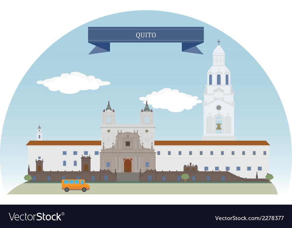 Quito vector | Price: 1 Credit (USD $1)