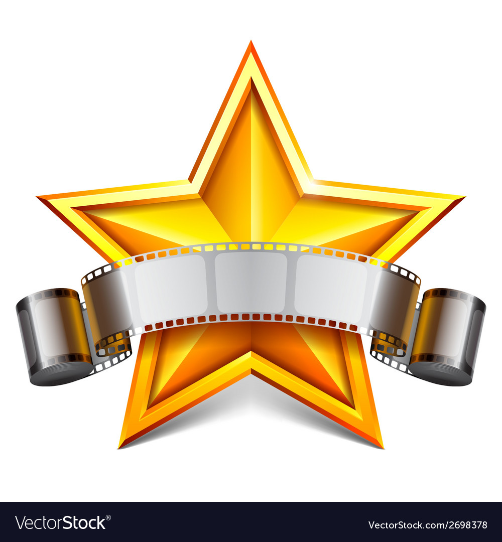 Movie star vector | Price: 1 Credit (USD $1)