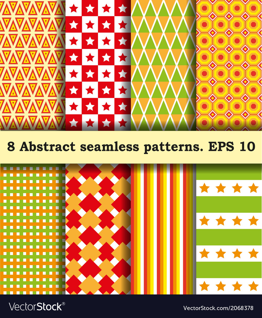 Set fabric with abstract pattern vector   Price: 1 Credit (USD $1)
