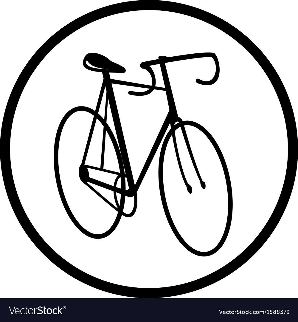 Bicycle icon vector | Price: 1 Credit (USD $1)
