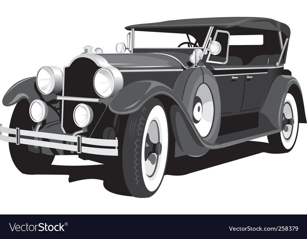 Retro car vector   Price: 3 Credit (USD $3)