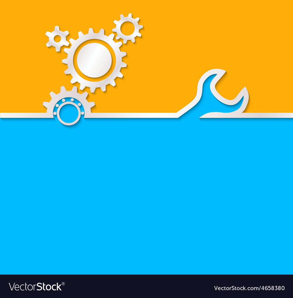 Gear background useful background for construction vector | Price: 1 Credit (USD $1)