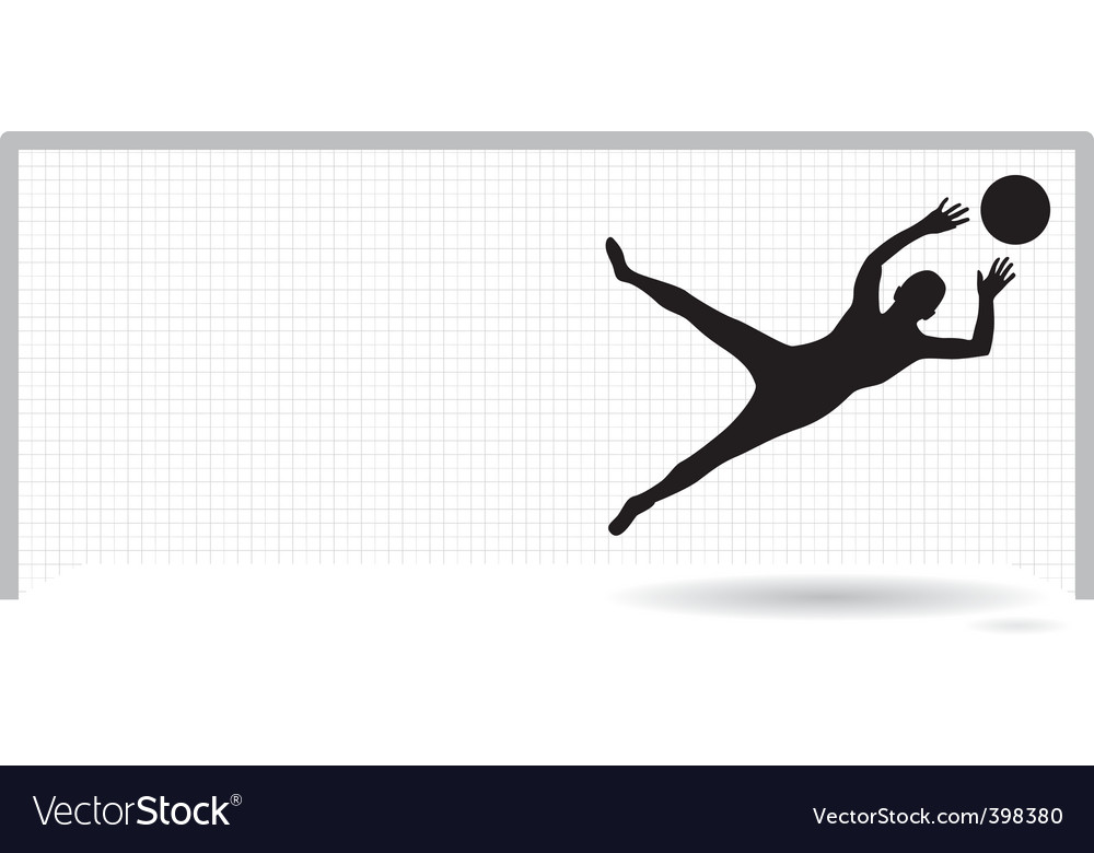 Goalie vector | Price: 1 Credit (USD $1)