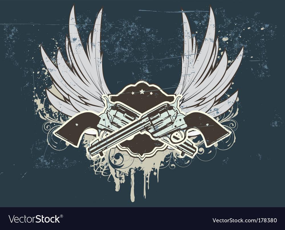 Sheriff insignia vector | Price: 1 Credit (USD $1)