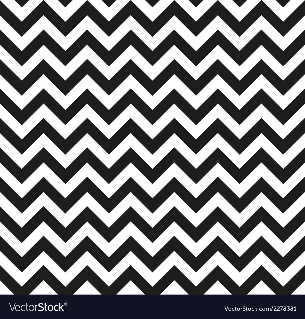 Chevron zigzag monochrome vector | Price: 1 Credit (USD $1)