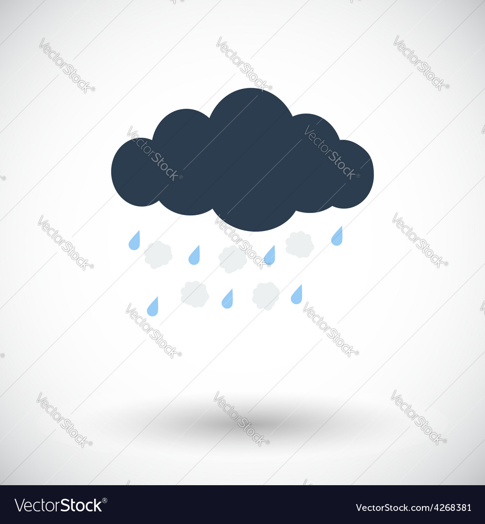 Hagel single icon vector | Price: 1 Credit (USD $1)