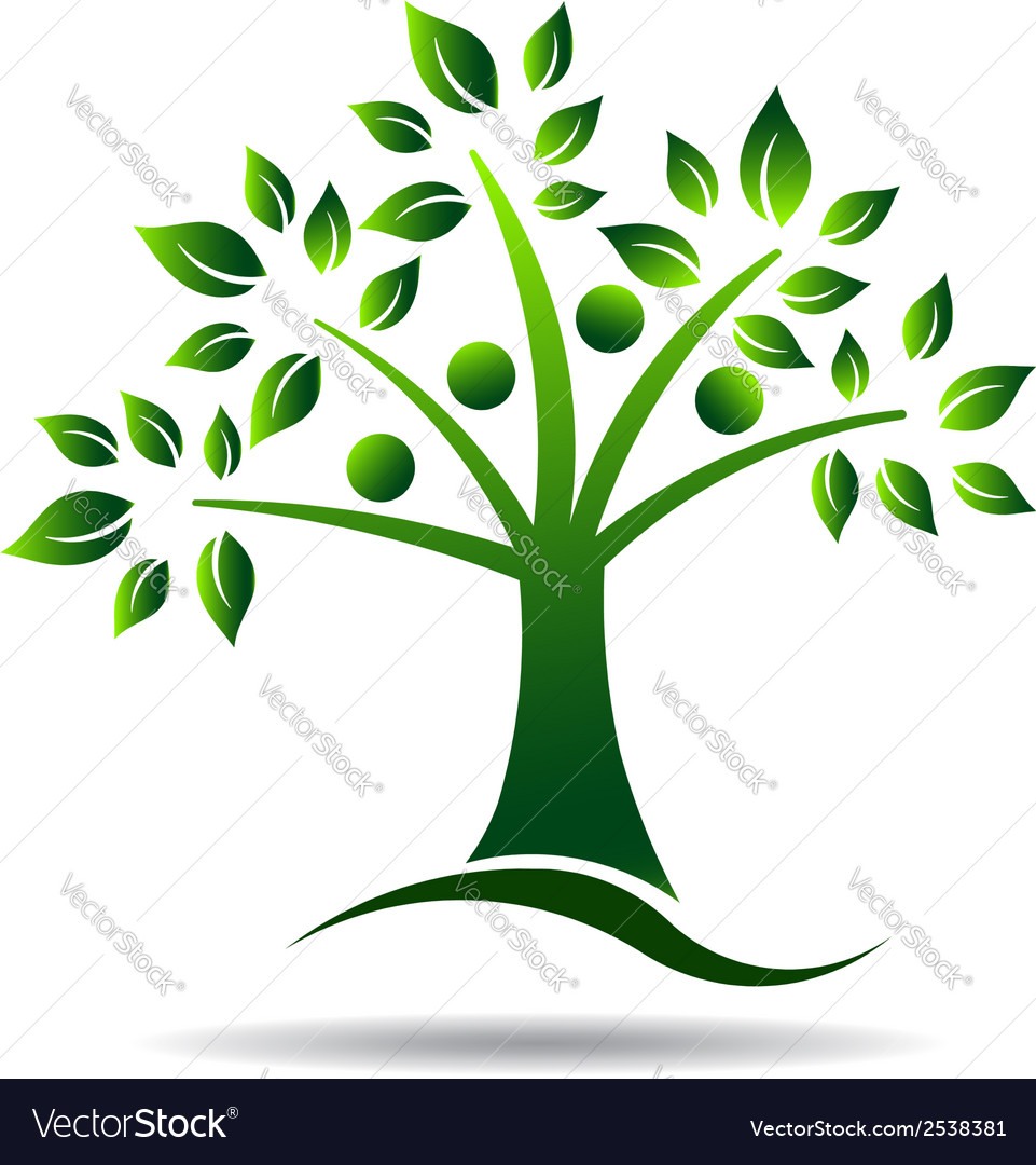 People tree concept for family tree natural life vector | Price: 1 Credit (USD $1)